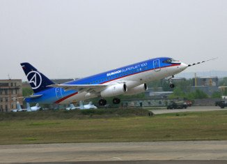 A Russian Sukhoi Superjet 100 with at least 44 people aboard has gone missing on a demonstration flight in Indonesia
