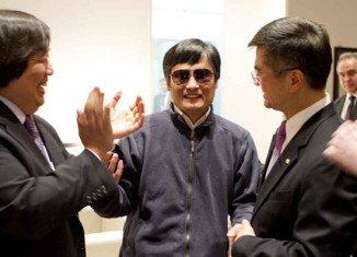 Chinese dissident Chen Guangcheng, who was at the centre of a diplomatic crisis with Washington, is on his way to the United States