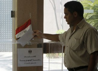 Egyptians are starting to vote in their first free presidential election, 15 months after ousting Hosni Mubarak in the Arab Spring uprising