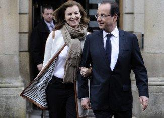 Francois Hollande and journalist Valerie Trierweiler have been together since 2005