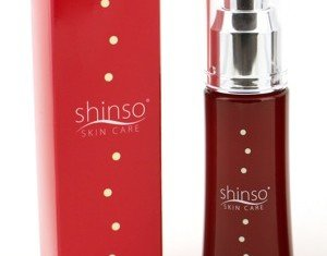 Shinso Skin Care is made from 69 different Japanese herbs and botanicals, including grapefruit peel, honey and olive tree extract, plus water from the depths of the Sea of Japan