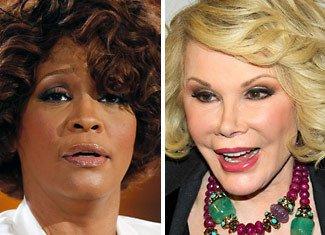 Veteran comedian Joan Rivers believes it isn't too soon to joke about Whitney Houston in her grave