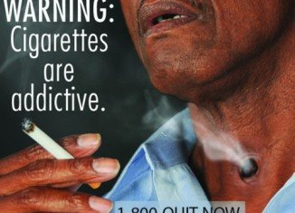 A US report has found that images of patients on ventilators on cigarette packets help smokers heed the health warnings about smoking