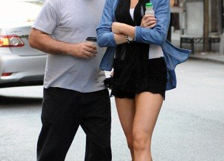 Alec Baldwin and his teen daughter Ireland were spotted heading out for breakfast in New York