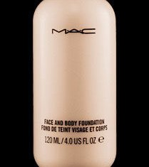 Caroline Flack gives her legs a beauty boost with MAC body foundation