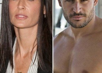 Demi Moore and Joe Manganiello were spotted enjoying each other's company at the after-party following the premiere of the actor's new movie That's My Boy in Los Angeles earlier this month