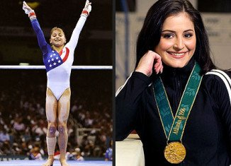Gymnast Dominique Moceanu has revealed how she discovered her parents gave up for adoption a secret sister who had no legs
