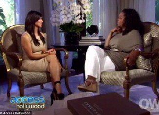 In a frank interview with Oprah Winfrey aired yesterday, Kim Kardashian opened up about her short-lived marriage to Kris Humphries