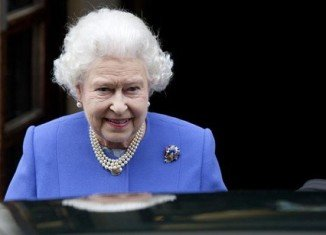 Queen Elizabeth II and Prince Andrew have visited Prince Philip in the London hospital where he is being treated for a bladder infection