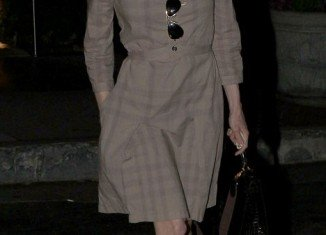 Renee Zellweger showed off her rail-thin frame as she left the Sunset Marquis hotel in West Hollywood yesterday