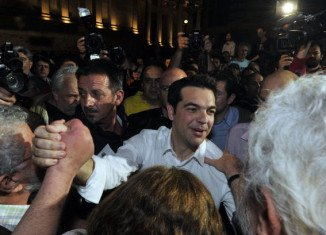 Syriza, the anti-bailout bloc which surged to second place in May, held its final rally in Athens on Thursday
