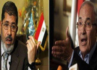 The Muslim Brotherhood's Mohammed Mursi ran in Sunday's poll against Ahmed Shafiq, who served as prime minister under former President Hosni Mubarak