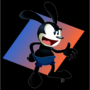 Oswald the Lucky Rabbit, one of Walt Disney's earliest characters, animated after 85 years