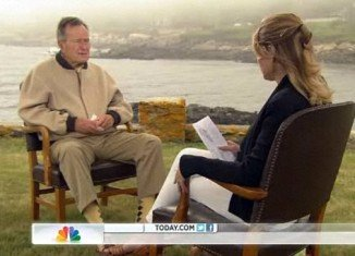 When Jenna Bush Hager interviewed her grandfather, former US President George H.W. Bush about growing old - they both broke down in tears
