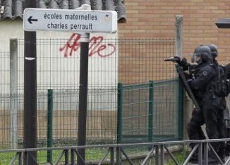 An armed man is holding a parent hostage at a school in Vitry-sur-Seine