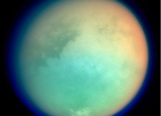 """Astronomers studying Titan, Saturn's largest moon, have described it as """"a weirdly Earth-like place"""" when it comes to geology"""