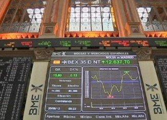 Debt-laden Spain has raised 2.98 billion Euros on the financial markets