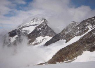 Five climbers fell to their deaths while climbing Swiss mountain Lagginhorn on Tuesday
