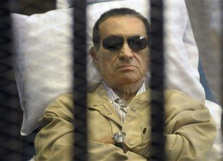 Hosni Mubarak was moved from prison to a hospital last month after reports of a deterioration in his health