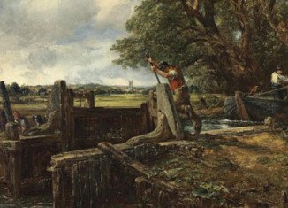 John Constable's The Lock is expected to become one of the most expensive British paintings ever when it is sold at Christie's in London
