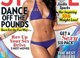 Jordin Sparks has shown off her new slimline figure on the cover of Shape magazine