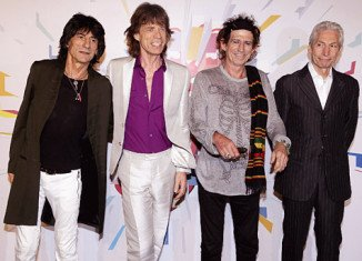 """Keith Richards, the guitarist of The Rolling Stones, says the band have met up for """"a couple of rehearsals"""" as they mark 50 years together"""