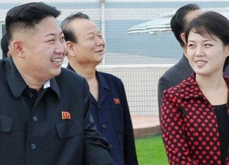"""North Korean media reports referred to Kim Jong-Un attending the opening of an amusement park with his wife, """"Comrade Ri Sol-Ju"""""""