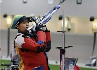 Nur Suryani Mohamad Taibi, a Malaysian mother-to-be, stayed positive despite failing to make it to the Olympic 10 m air rifle shooting final