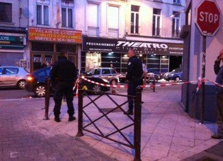 Police in Lille, France, are hunting a gunman who shot dead two people and injured five at Theatro nightclub after being turned away