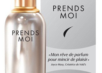 Prends-moi is the world's first slimming fragrance from Velds that has been developed at the French perfume house Robertet