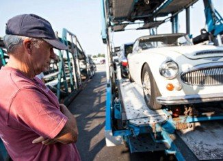 Robert Russell said he had never given up searching for the 1967 Austin-Healey, which was stolen in 1970