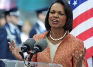 "Rumors of Condoleezza Rice becoming Mitt Romney's vice-presidential running mate has increased significantly after internet pioneer Matt Drudge reported that she is ""near the top"" of his shortlist"