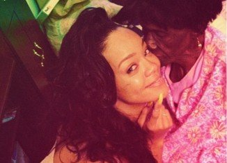 Two weeks ago Rihanna posted intimate photos of her spending time with her sick grandmother on Twitter