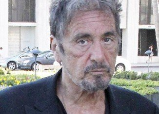 Al Pacino was looking all his 72 years as he stepped out yesterday with leathery, wrinkled skin, lending him a slightly haggard appearance