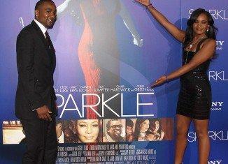 Bobbi Kristina Brown and Nick Gordon took Whitney Houston's place at the premiere on Sparkle last night