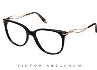 """Each piece in the collection is handcrafted in Italy and is distinctive as a Victoria Beckham design by a """"V"""" tip at the end of each arm"""
