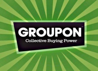 Groupon has swung into profit but weaker-than-expected revenue figures sent shares in the voucher firm sharply lower in after-hours trading