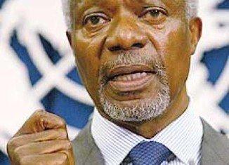 Kofi Annan is quitting as UN-Arab League envoy