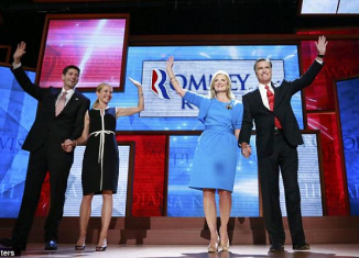 Mitt Romney has accepted the Republican presidential nomination at the party's convention in Florida