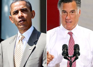 """Mitt Romney has accused his rival President Barack Obama of running a campaign built on """"anger and divisiveness"""""""