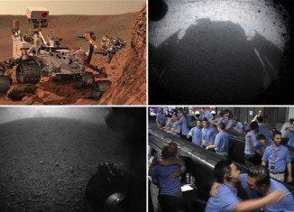 NASA's Curiosity rover has just landed on Mars