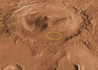 NASA has released the first full color mosaic from its Curiosity rover on the surface of Mars