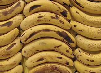 Supermarket bananas could soon be coated with a substance derived from seafood to keep them fresh for longer