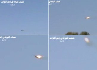 Syrian rebels have produced footage of a man they claim is the captured pilot of a fighter jet that went down in the east of the country