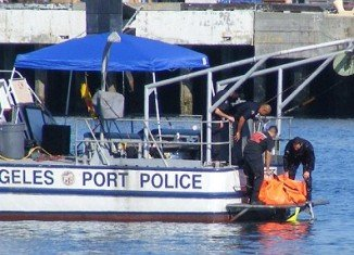 Tony Scott's body was pulled from the water beneath the Vincent Thomas Bridge in San Pedro, California