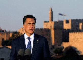 A new secret video clip has emerged of remarks by Mitt Romney, saying the Palestinians are committed to Israel's destruction