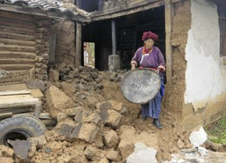A series of earthquakes has hit south-west China, leaving at least 50 people dead and 150 injured