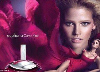 Calvin Klein Fragrances announced a new worldwide advertising campaign for euphoria Calvin Klein featuring Lara Stone