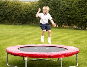 Children should be banned from jumping on trampolines because they are too dangerous