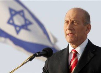 Ehud Olmert was found guilty in July of illegally granting favors to a businessman while he was a minister